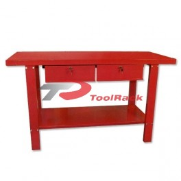 Workbench Steel 1.5mtr with 2 Drawers