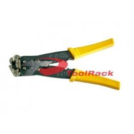 Cleste pentru dezizolat cabluri si pentru sertizat papuci electrici